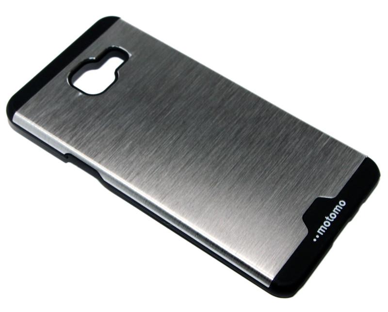 Крышка-бампер пластик+металл Motomo Soft touch for Samsung Galaxy A510