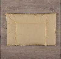 """Подушка """"Совенятко"""" Горох Поплин 40*60 см для новорожденного, желтый"""