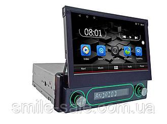 1din Магнитола Android 7.0.1 GPS+WIFI+BT USB 1/16 Gb