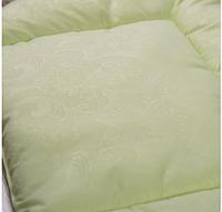 """Подушка """"Комфорт"""" 40*60 см для новорожденного, салатный"""