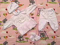 """Комплект для новорожденного """"Принцесса"""" (интерлок, фатин)"""