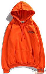 Худи Off-white Chrome Bears Orange (ориг.бирка)