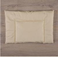 """Подушка """"Комфорт"""" 40*60 см для новорожденного, молочный"""