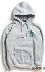 Худи DGK Stay Smoking Light Grey (ориг.бирка)