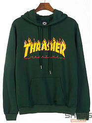 Худи Thrasher Dark Green (ориг.бирка)