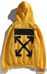 Худи Off-white Yellow (ориг.бирка)