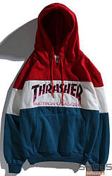 Худи Thrasher Red/White/Blue (ориг.бирка)