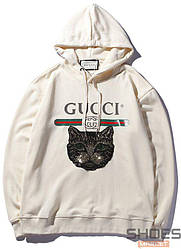 Худи Gucci White (ориг.бирка)