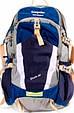 Туристический рюкзак Onepolar W1729-navy синий 28 л, фото 2