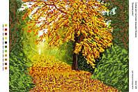 """Схема для вышивки бисером """"Багряна осінь"""""""