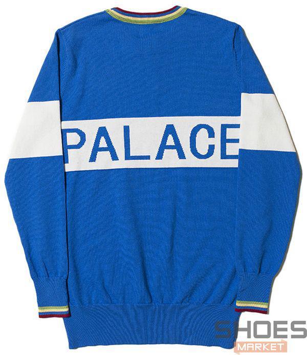 Свитшот Palace Blue (ориг.бирка)