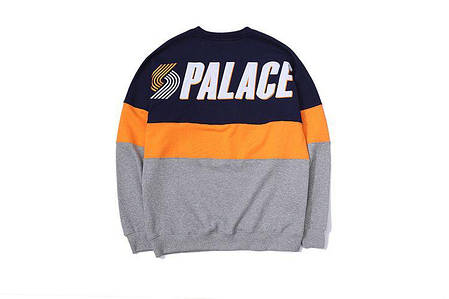Свитшот Palace Grey/Blue/Orange (ориг.бирка), фото 2