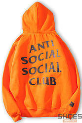 Худи Anti Social Social Club Orange (ориг.бирка)