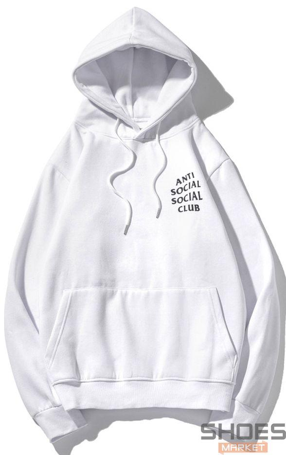 Худи Anti Social Social Club White (ориг.бирка)