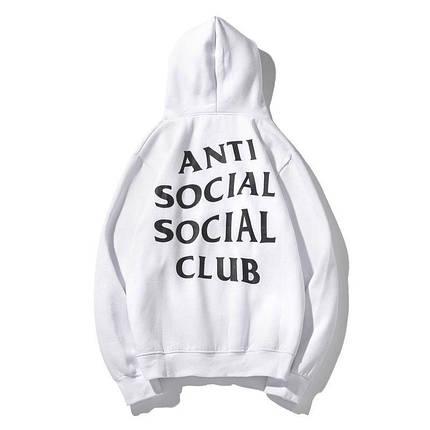 Худи Anti Social Social Club White (ориг.бирка), фото 2