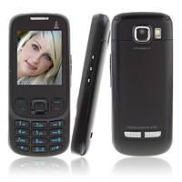 Мобильный телефон NOKIA 6303 +tv (Z800 ) Duos 2 sim металлический корпус