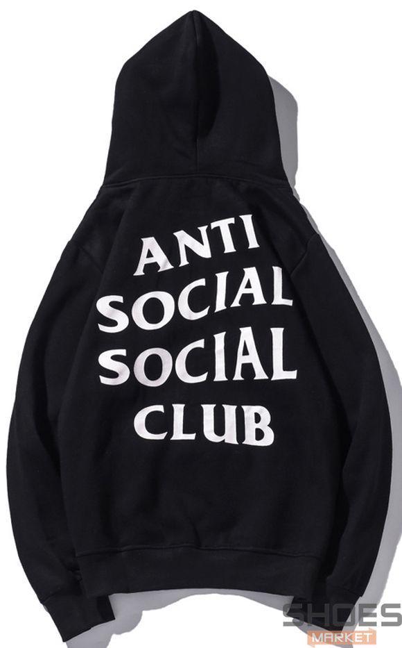 Худи Anti Social Social Club Black (ориг.бирка)
