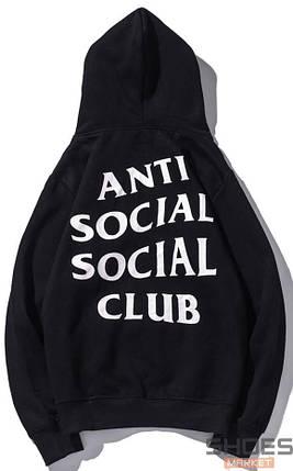 Худи Anti Social Social Club Black (ориг.бирка), фото 2