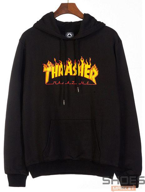Худи Thrasher Black (ориг.бирка)