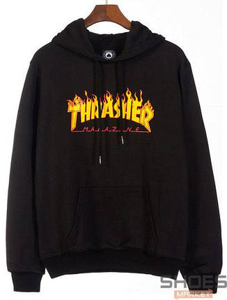 Худи Thrasher Black (ориг.бирка), фото 2