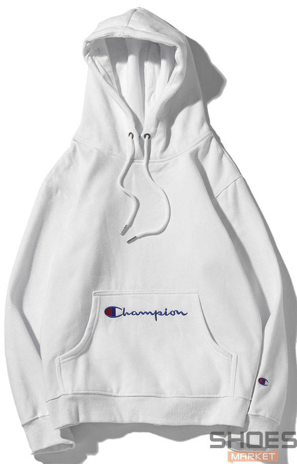Худи Champion White (ориг.бирка)