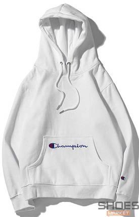Худи Champion White (ориг.бирка), фото 2