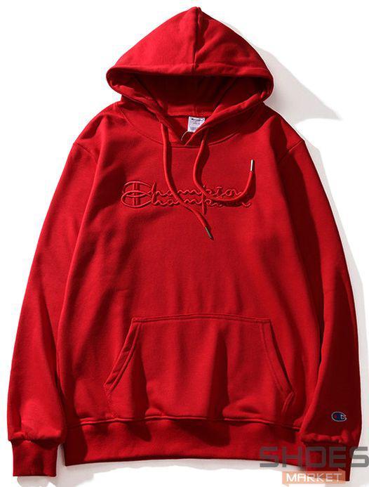 Худи Champion Red (ориг.бирка)
