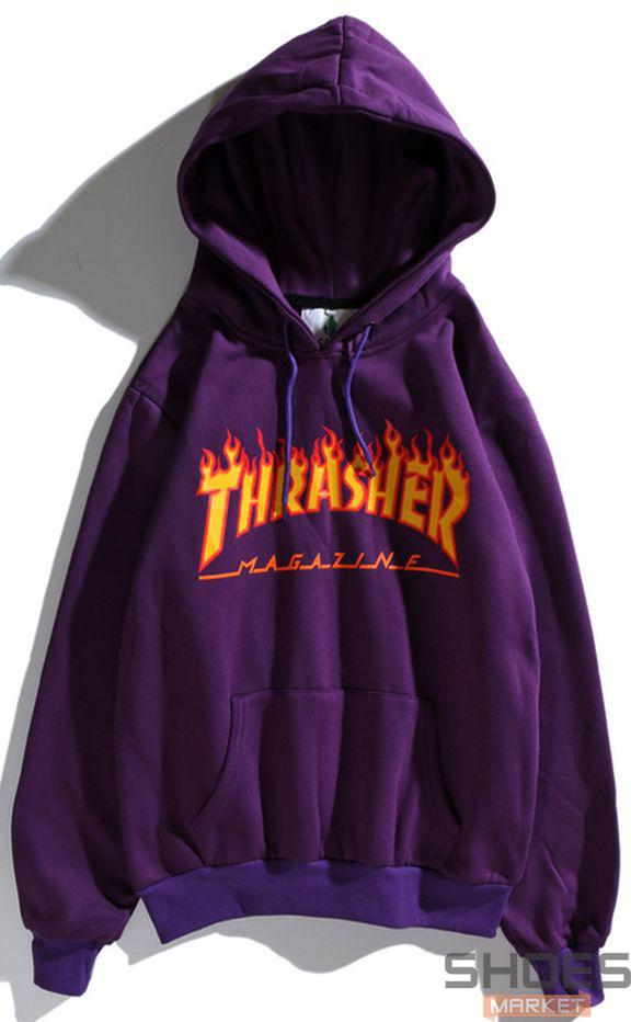 Худи Thrasher Violet (ориг.бирка)