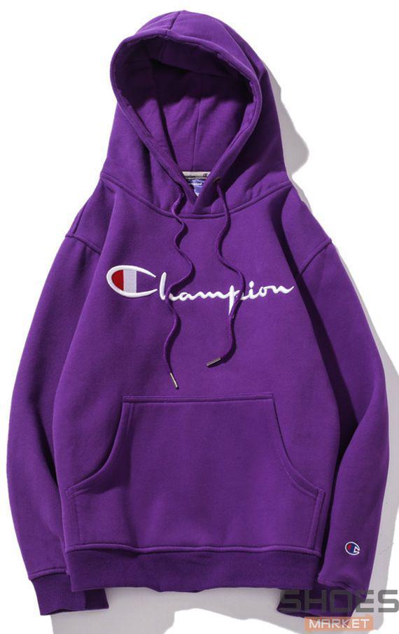 Худи Champion Violet (ориг.бирка)