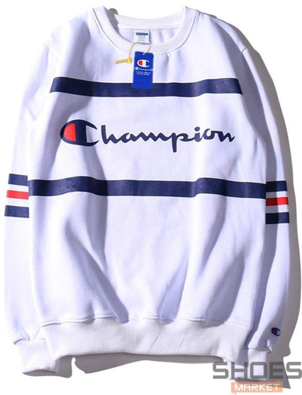 Свитшот Champion White (ориг.бирка)