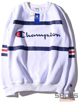 Свитшот Champion White (ориг.бирка), фото 2