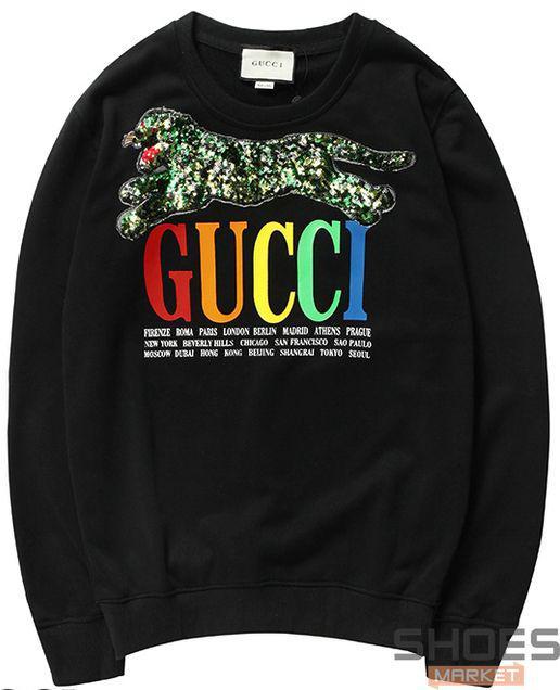 Свитшот Gucci Black (ориг.бирка)