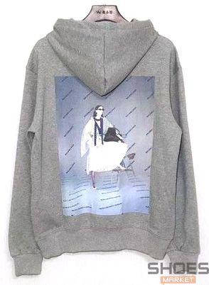 Худи Balenciaga Grey (ориг.бирка), фото 2