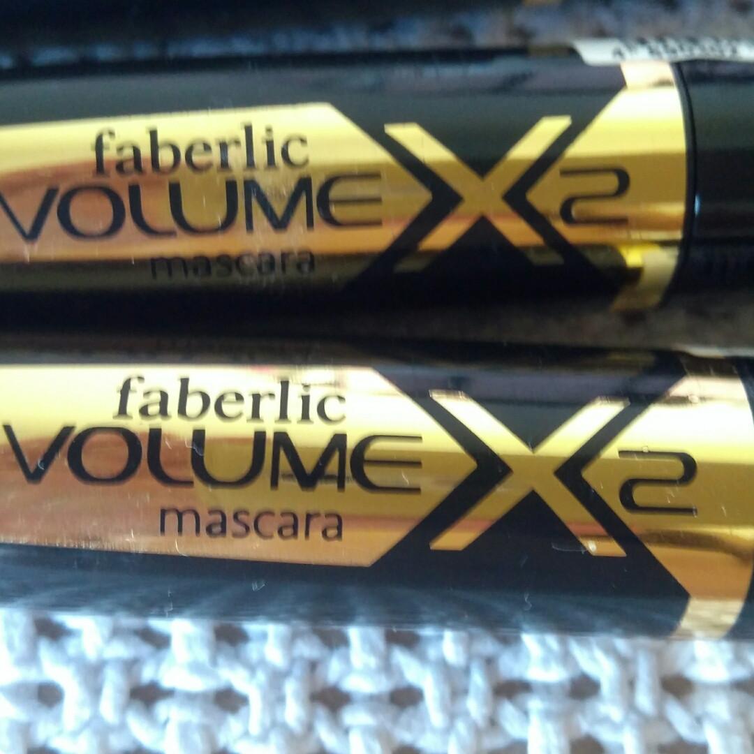 Тушь для глаз Revolume X2 mascara faberlic Революционный объем