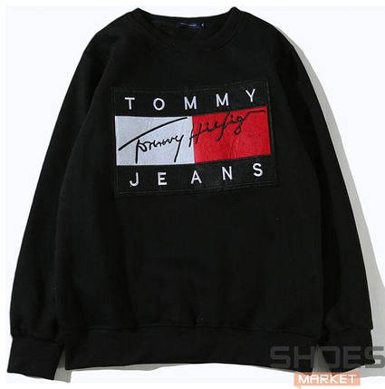 Свитшот Tommy Jeans Black (ориг.бирка), фото 2