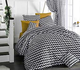 Комплект постельного белья ТМ LightHouse бязь голд ZEBRA бежевый 200х220/2х50х70