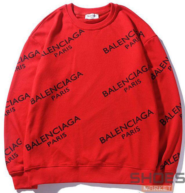 Свитшот Balenciaga Red (ориг.бирка)