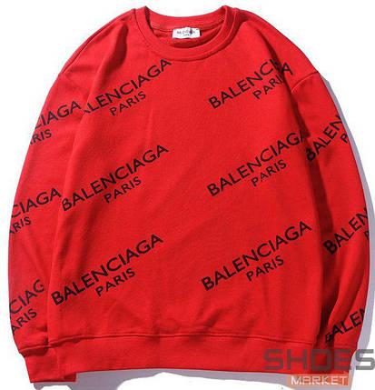 Свитшот Balenciaga Red (ориг.бирка), фото 2