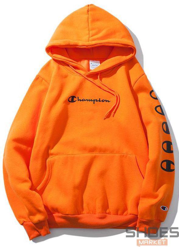 Худи Champion Orange (ориг.бирка) - Интернет-магазин обуви и одежды в Киеве