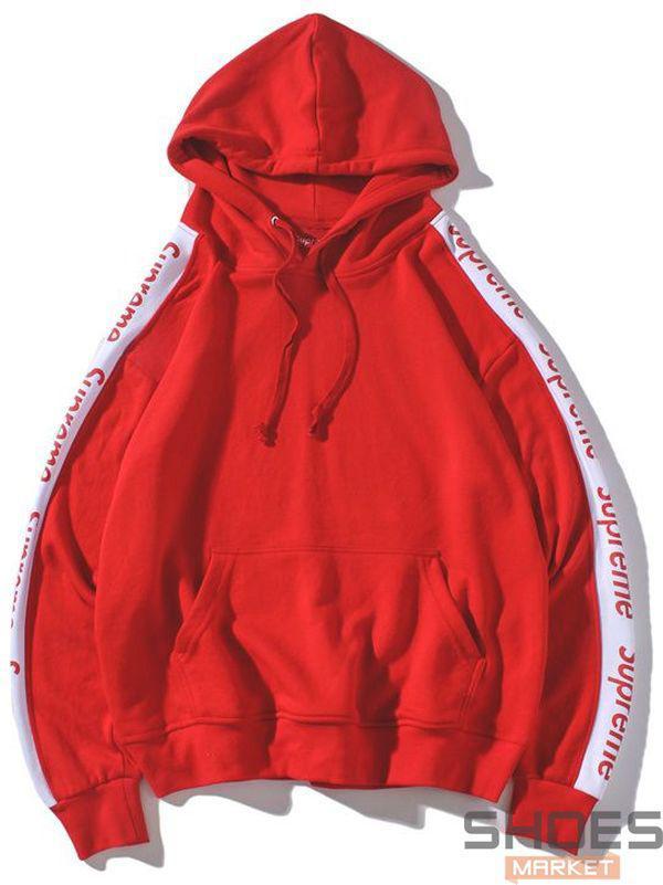 Худи Supreme Red (ориг.бирка)