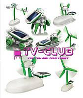 Мини солнечный комплект для детей 6 в 1, конструктор RobotiKits