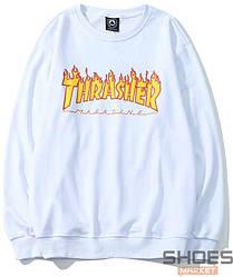 Свитшот Thrasher White (ориг.бирка)