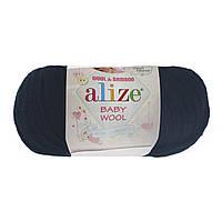 Alize Baby Wool темно-синий №58, фото 1