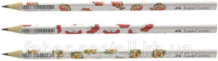 """Карандаш чернографитный Faber-Castell MOTIF """"морские обитатели"""", 118329"""