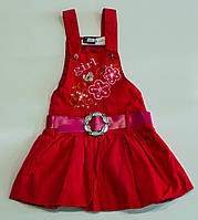 Стильный сарафан для девочки на 1 год, фото 1