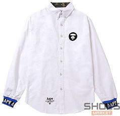 Рубашка Bape White (ориг.бирка)