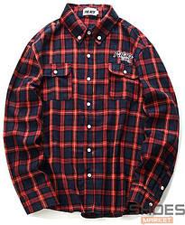 Рубашка Palace Blue/Red (ориг.бирка)