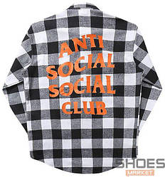 Рубашка Anti Social Social Club Black/White (ориг.бирка)