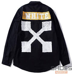 Рубашка Off-white Black (ориг.бирка)