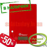Весы электронные кухонные DOMOTEC MS-1912 5 кг